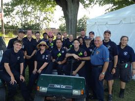 SSFD members at the Fair.